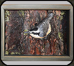 Nuthatch key box by Jim and Holly Cutting.